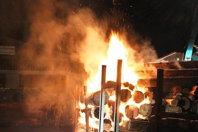Brand in Sägewerk – geht der Feuerteufel um?