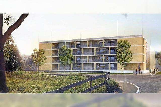 Wohnbau Baden AG baut Mietshaus mit 20 Einheiten