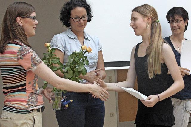 Acht Schülermentoren bekommen Zertifikat
