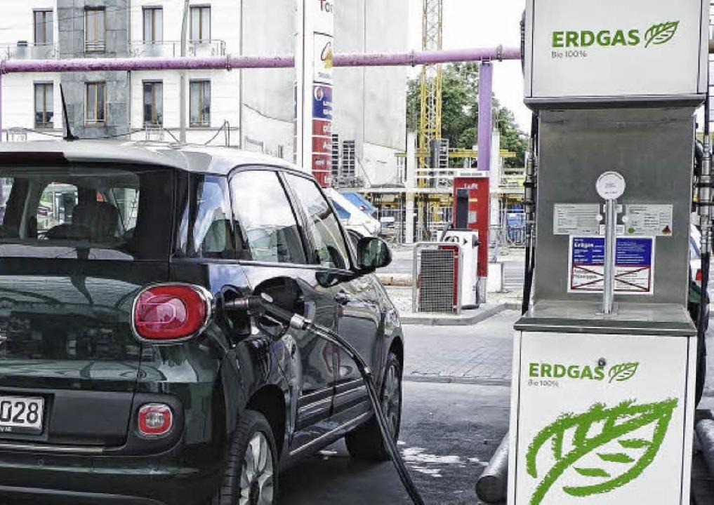 Für alle Langstrecken-Erdgasautofahre...kstellen entlang der Strecke aufzählt  | Foto: Fiat