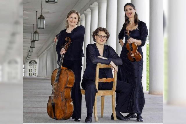 Trio Fortepiano auf historischen Instrumenten