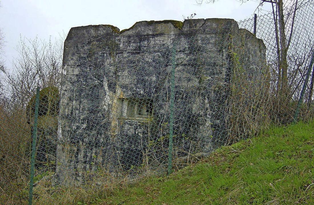 Ein ehemaliger Bunker    Foto: BZ