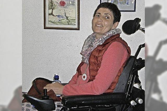 Sevije Sejdaj stellt im Emmendinger Kreiskrankenhaus aus