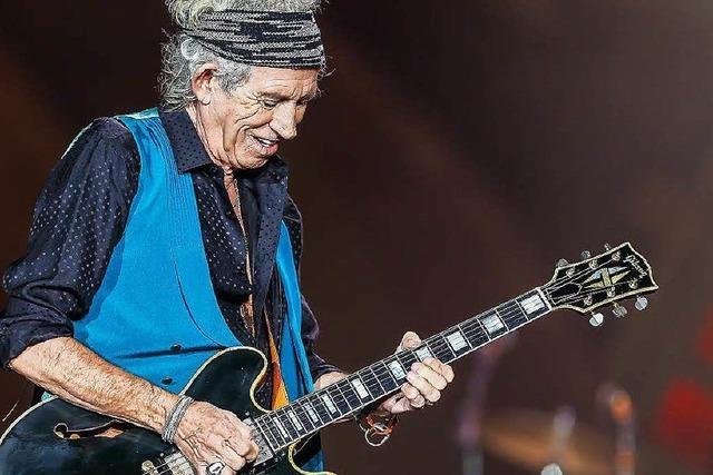 Keith Richards veröffentlicht Soloalbum