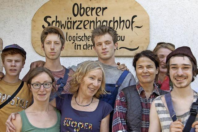 Der Schwärzenbachhof als Filmkulisse