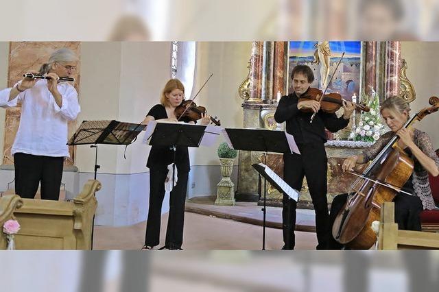 Romantische Kammermusik in der Schlosskirche