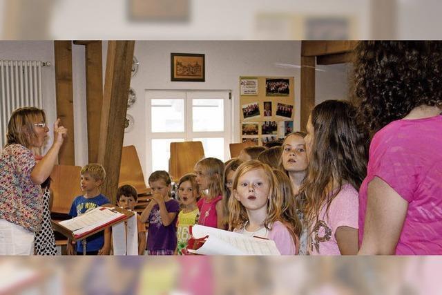 Singen verbindet in Grafenhausen