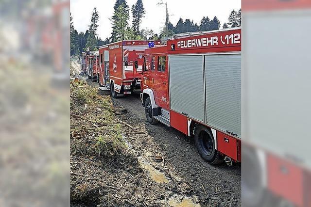 Keine Pause für die Feuerwehr