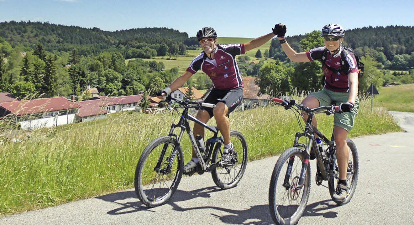 Auf schönes Wetter hofft der Skiclub Hotzenwald für seinen Mountainbike-Tag.     Foto: shaw