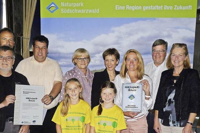 Jetzt offiziell Naturparkschule