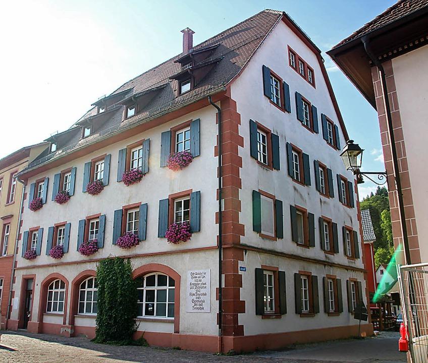Die Johann-Peter-Hebel-Schule – noch ist sie in der Altstadt zuhause.    Foto: Anja Bertsch