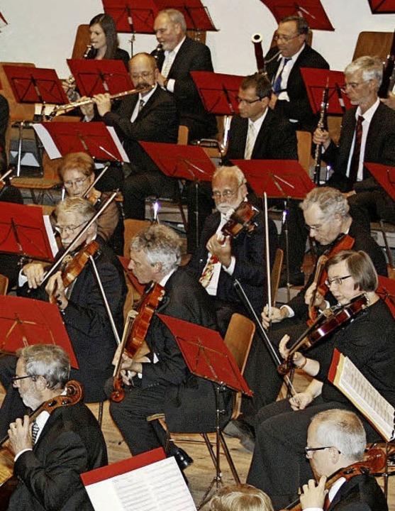 Nicht nur die Musiker der Orchesterges...uter Akustik in Weil am Rhein freuen.     Foto: zVg