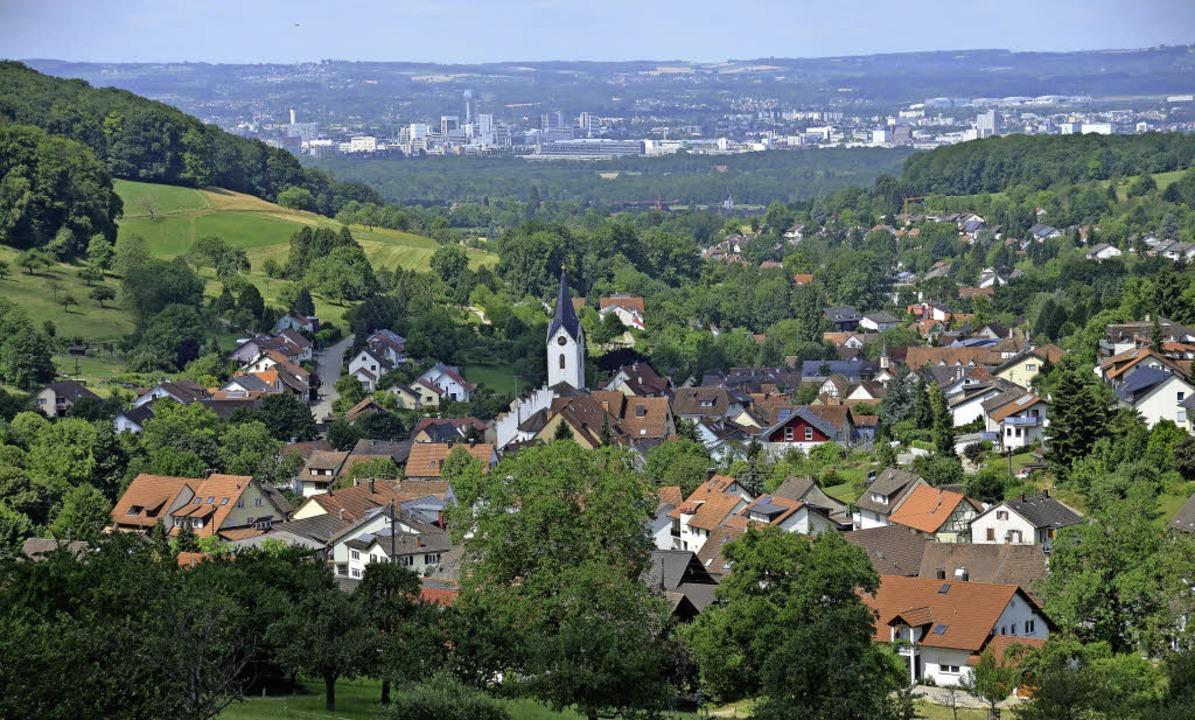 Inzlingen – viel mehr als eine Wohngemeinde in der Agglomeration Basel.     Foto: Nikolaus Trenz