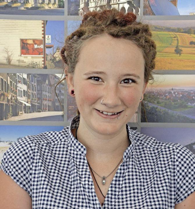 Yasmin Mülhaupt freut sich aufs Workca...e Badische Zeitung darüber berichten.   | Foto: Ingrid Böhm-Jacob