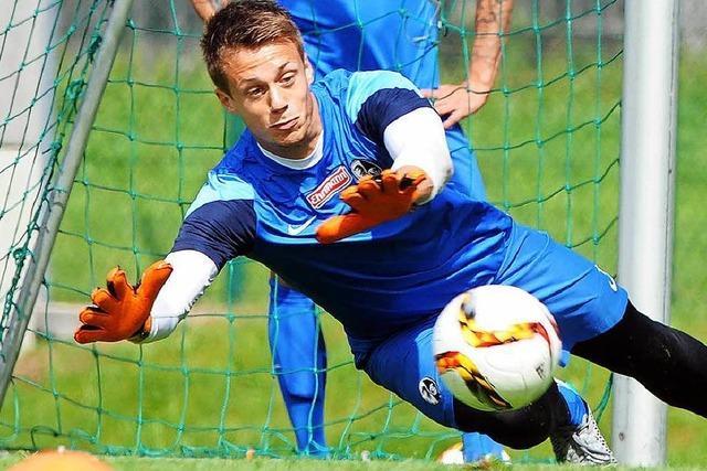 Die neuen Torhüter des SC Freiburg kämpfen um die Nummer 1