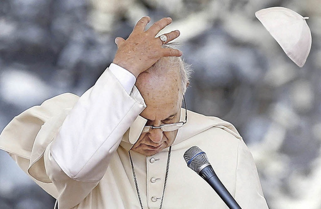 Papst Franziskus     Foto: dpa