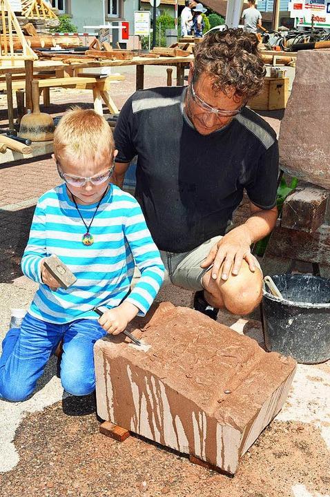 Impressionen vom Zarduna-Märkt in Kirchzarten  | Foto: Gerd Lück