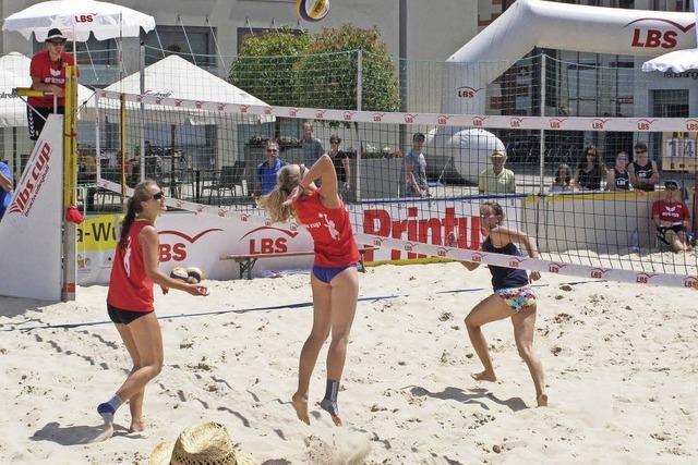 Beste Werbung für Beachvolleyball