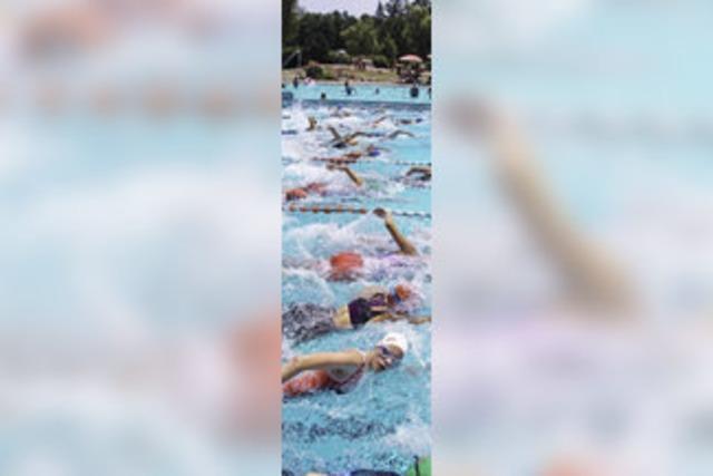 250 Teilnehmer beim Schopfheimer Sparkassen-Triathlon