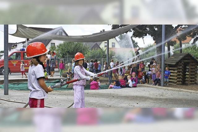 Feuerschutz fängt im Kindergartenalter an