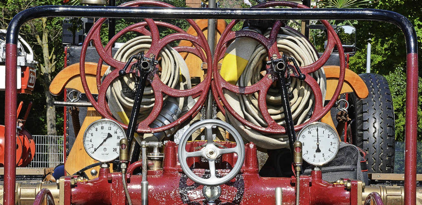 Technisches Detail vom Laufener Fahrzeug aus dem Jahr 1926  | Foto: Hannes Lauber