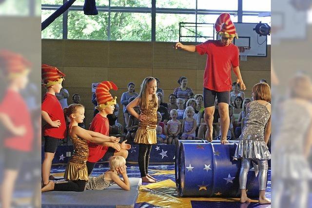 Faszinierende Zirkusshow zum Schuljubiläum