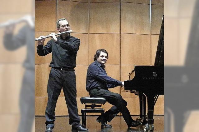 Gianluigi Durando und Luigi Stillo in Emmendingen