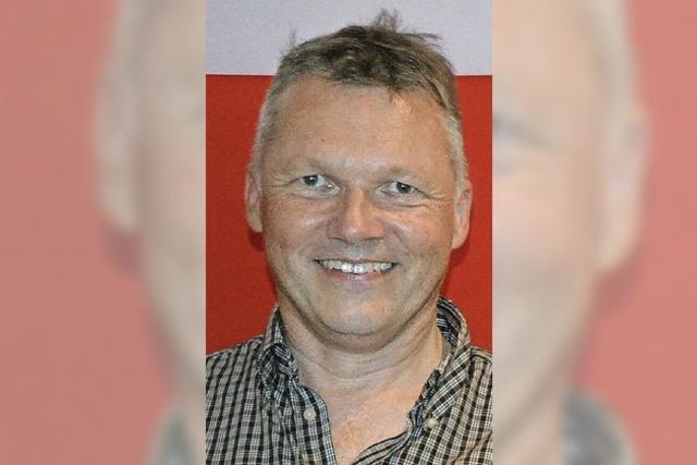 Walter Krögner kandidiert für die SPD