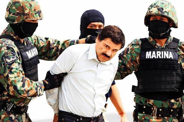 Drogenboss El Chapo flüchtet wieder aus Knast