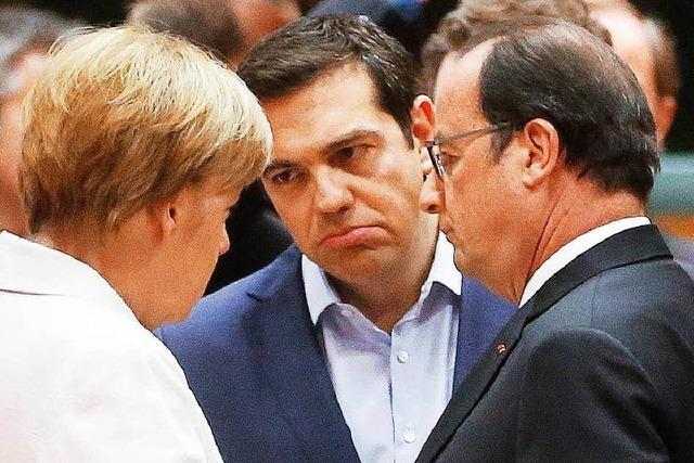 Europartner öffnen Athen die Tür: Gespräche über neues Hilfspaket