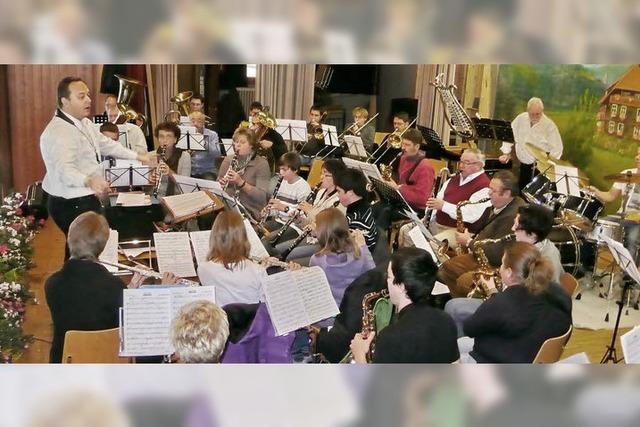 Blasmusikparty in Menzenschwand