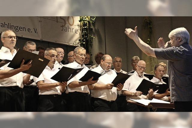 Gesang, der Freude bereitet