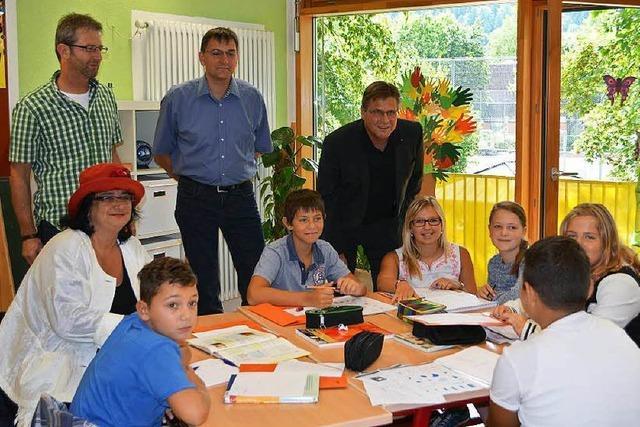 Lernen und Spaß haben in der Kiwanis-Ferienschule in Kollnau