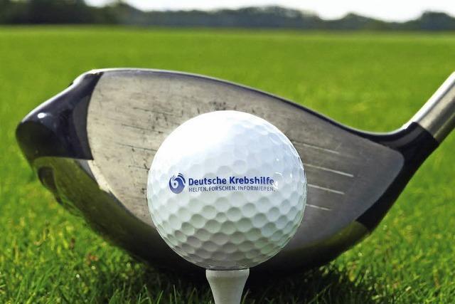 Benefizturnier beim Golfclub Tuniberg