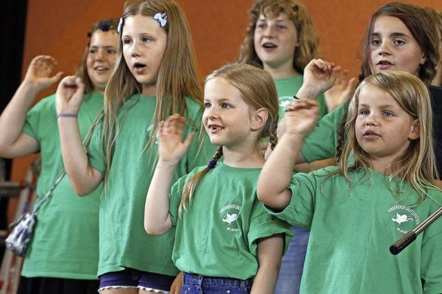Ein Chor, dessen Mitgliederzahl stetig am Steigen ist