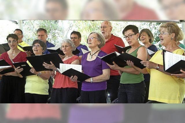Sänger bereiten mit Schulmeistereien viel Vergnügen