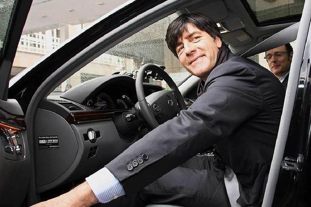 Jogi Löws Mercedes wird bei Ebay versteigert