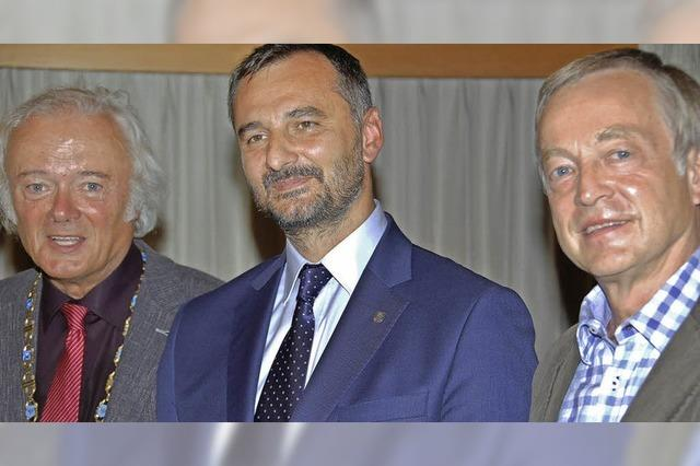 Bentler wird Ehrenbürger in Bierun