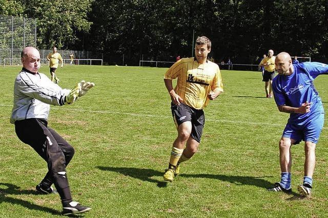 Fußball total bei Sportwoche des FVH