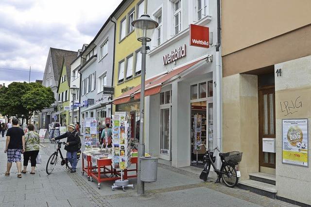Ein Ein-Euro-Shop für die Steinstraße