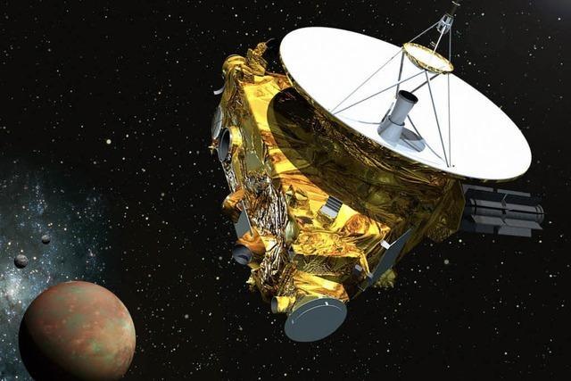 Nasa-Sonde erreicht Pluto