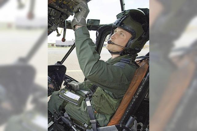 Prinz William ist jetzt Rettungsflieger