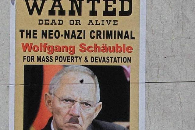 Schäuble zweifelt an Athens gutem Willen
