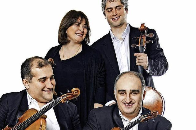 Das Iberi-Quartett spielt im Freiburger depot.K