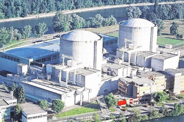 Atomkraftwerk Beznau muss Leistung drosseln