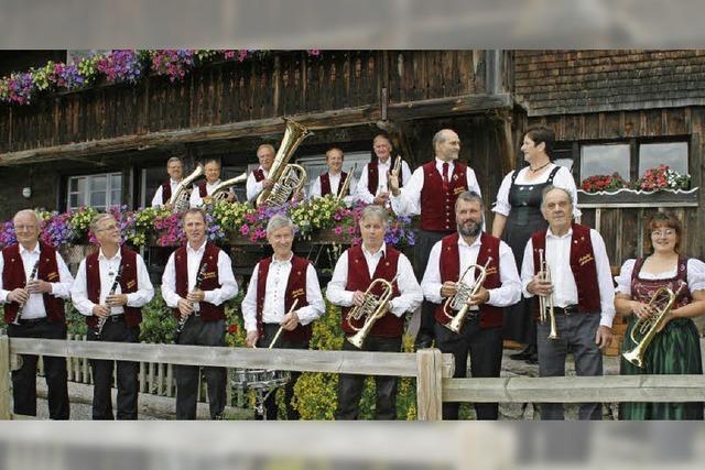 Die Aubachtal Musikanten in Höchenschwand