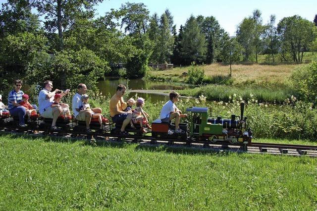 Minidampflokfahrten in Breitnau