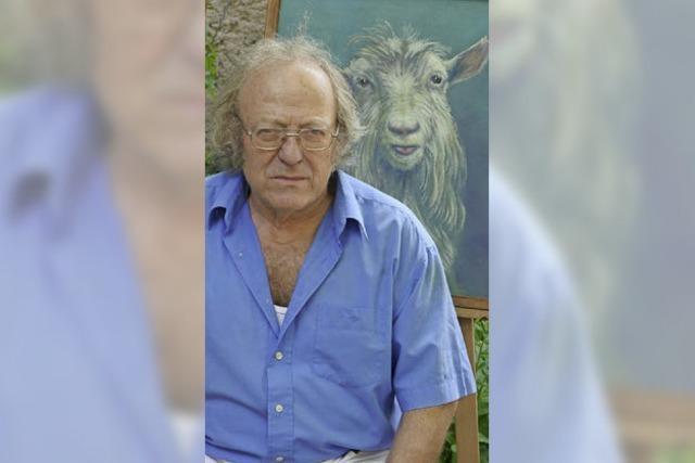Walter Sekinger zeigt Bilder und Keramiken