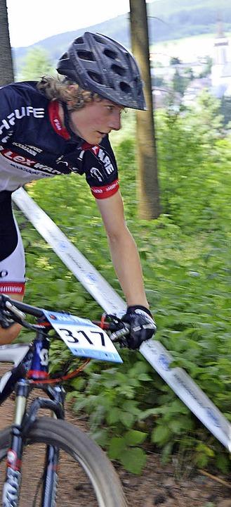 Zweiter in der U15: Fabian Tröscher vom SV Kirchzarten   | Foto: junkel