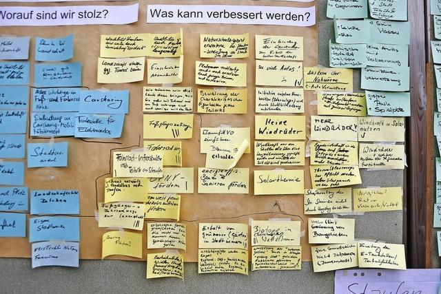 Bürgerwerkstatt zur Stadtentwicklung: Viele Ideen und viele offene Fragen